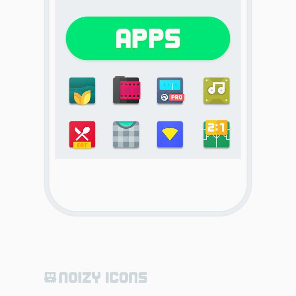 Noizy Icons v1.4.4