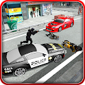 Criminal Police Car Chase 3D icon