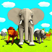 Game Wild Animals Battle Simulator Games apk for kindle fire