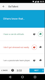 GoTalent - Job Personality Test - náhled