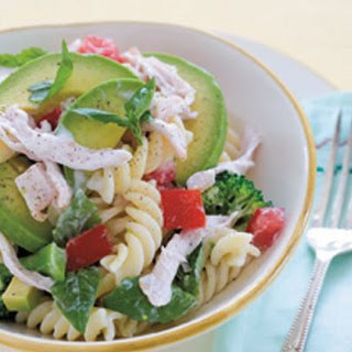 Avocado And Smoked Chicken Pasta