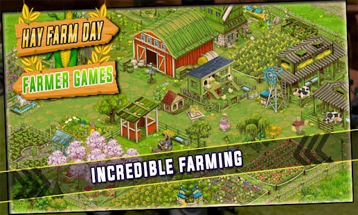 Hay Farm Day - Best Farmer Games - náhled