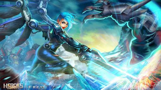 Heroes Infinity: God Warriors -Action RPG Strategy 1.20.2 screenshots 11