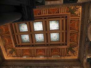 Photo: Ceiling of the Library of Congress - Jefferson building