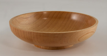 "Photo: Jack Enders 4 3/4"" x 1 1/4"" bowl [maple]"