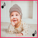 Baby ringtones, baby sounds icon
