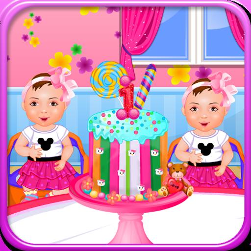 雙胞胎的生日女孩遊戲 休閒 App Store-愛順發玩APP