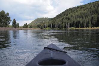 Photo: Floating Snake River