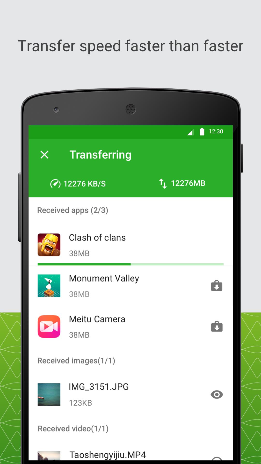 Xender: File Transfer, Sharing screenshot #3