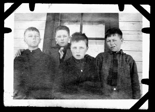 Photo: Tom Brandvold Album TBB038 /  Skiever, Tommy, Melvin, and Paul Bradvold - Stanley, Wisconsin