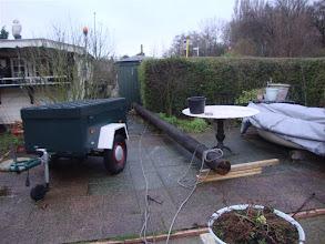 Photo: Goed aangekomen in Fred zijn tuin