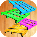 diy wood pallet projects icon