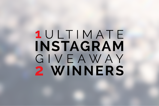 ULTIMATE INSTAGRAM GIVEAWAY!