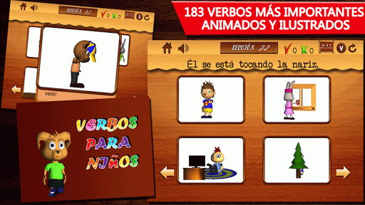 Verbos para niños-1-Spanish
