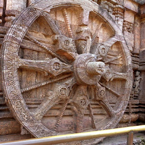Chariot wheel by Atreyee Sengupta - Uncategorized All Uncategorized (  )