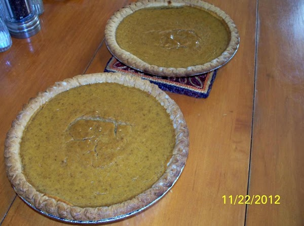 Pumpkin Sweet Potato Pie Recipe