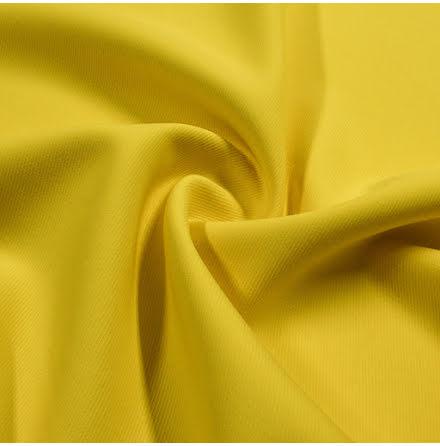 Ulltwill med stretch - gul