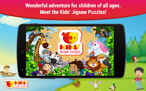 jigsaw puzzles for kids free boys and girls games apps on google play