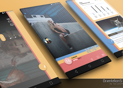 OrientationS for Klwp - náhled