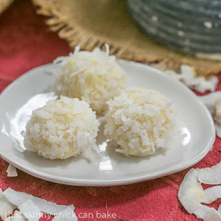 Coconut White Chocolate Truffles #SundaySupper