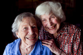 Photo: Sisters Mary L. Thomas, 91, left, and Joan Safarian, 90, photographed in Mesa, Ariz., were part of Girl Scout Troop 1 of Phoenix over 80 years ago. They dove into Scouting, each earning more than 30 badges, and they recently recounted their scouting memories for The Arizona Republic. Photo by David Wallace, The Arizona Republic.