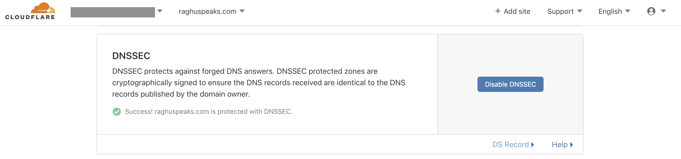 DNSSEC-enabled-cloudflare
