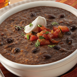 Quick Black Bean Soup