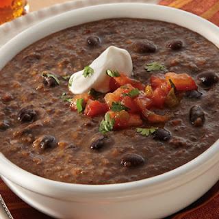 Quick Black Bean Soup.
