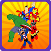 Puzzle SuperHero Kids Learning