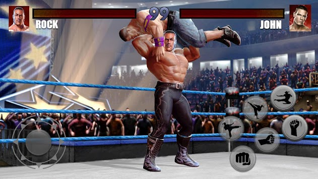 World Wrestling Revolution Star Championship 2018 apk screenshot