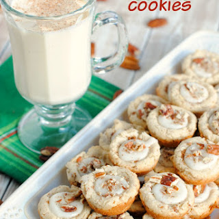 Pecan Egg Nog Cookies