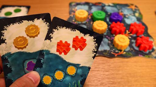 リーフ:カードを出す
