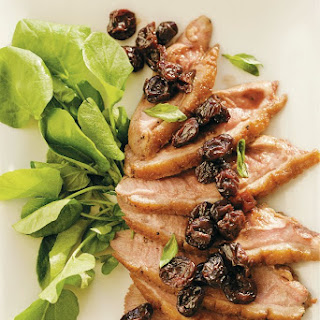 Paleo Duck Recipe- Roasted Duck Breast with Cherry Relish.