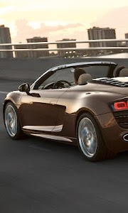 Themes Audi R8 Spyder screenshot 0
