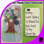 DIY Phone Case Collections