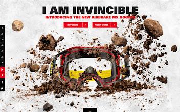 Photo: Site of the Day 5 April 2013 http://www.awwwards.com/web-design-awards/oakley-airbrake-mx