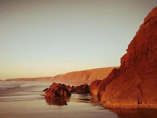 la plage de mirleft surf