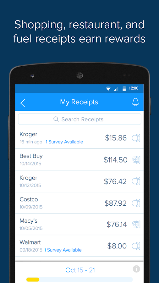 Receipt Hog - Receipts to Cash- screenshot