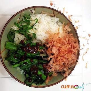Neko Manma with Chinese Broccoli