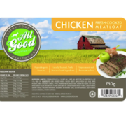 All Good Dog Food Chicken Meatloaf