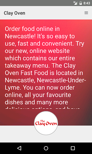 Clay Oven Fast Food