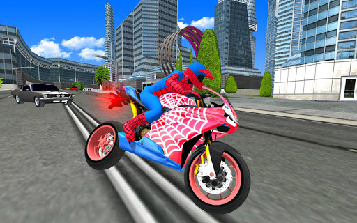 Bike Super Hero Stunt Driver Racing 1.0 screenshots 1