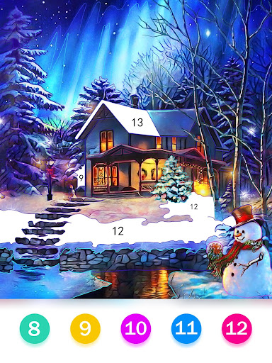 Color by Number - Happy Paint filehippodl screenshot 14