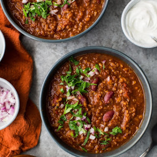 Bulgur Vegetarian Chili Recipe