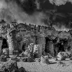 Pobiti Kamani - planted stones - Varna - Bulgaria by Svetoslava Todorova - Landscapes Caves & Formations ( prehistoric, nature, caves, varna, stones, landscape, bulgaria,  )