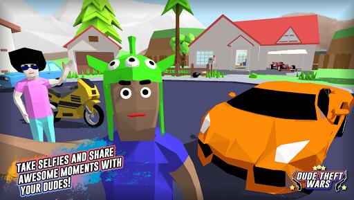 Dude Theft Wars: Open World Sandbox Simulator BETA screenshots 11