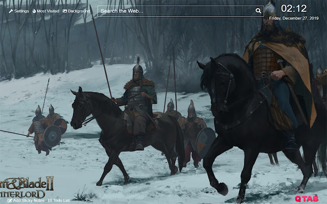 Mount & Blade 2:Bannerlord Wallpaper New Tab