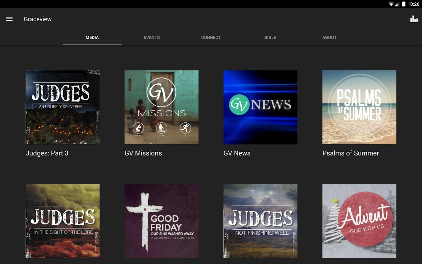 Graceview Baptist Church- screenshot