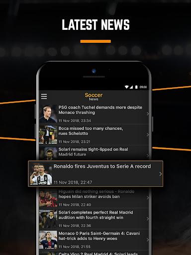 LiveScore: Live Sport Updates 3.0.11 screenshots 8