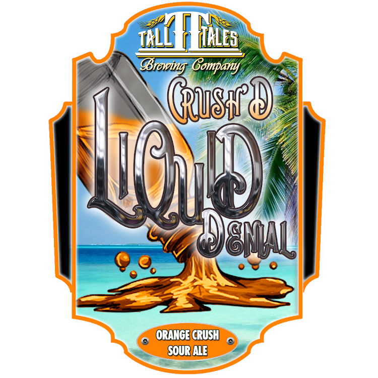 Logo of Tall Tales Liquid Denial - Crush'D - Orange Crush Sour
